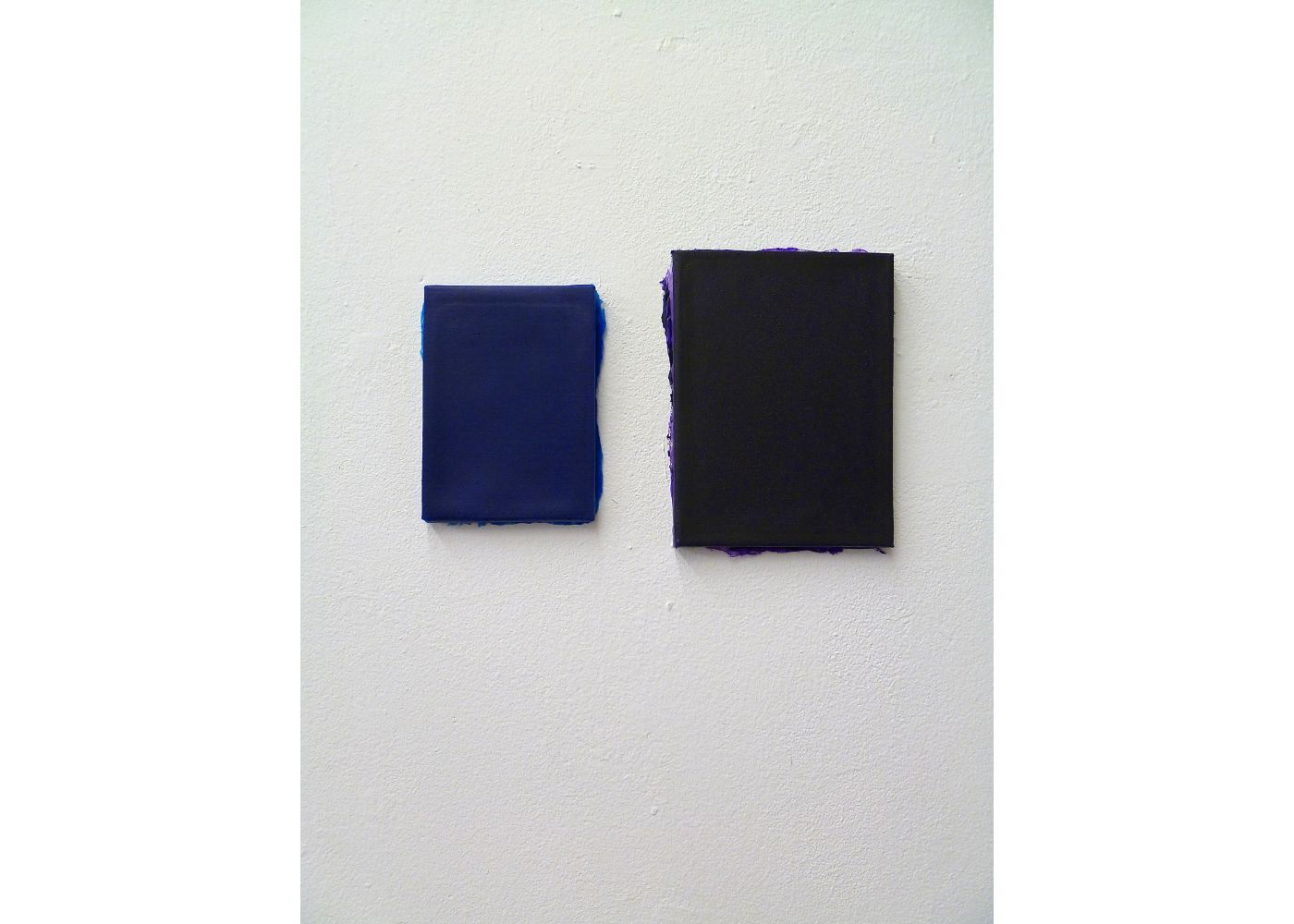 Ateliersituation, Color for Paint, blue and dark violet