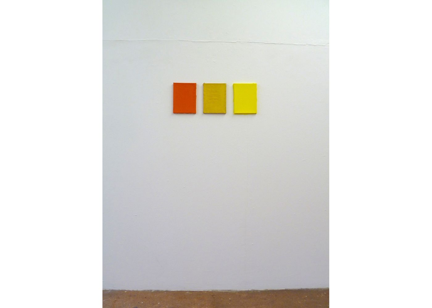 Ateliersituation, Color for Paint, orange, gold and yellow